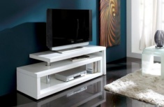 Mueble TV lacado blanco Worry