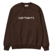 CARHARTT CARHARTT SWEAT TOBACCO / WAX