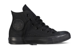 CONVERSE CHUCK TAYLOR ALL STAR HI BLACK MONO