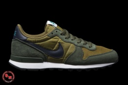 nike internationalist verde hombre