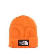 THE NORTH FACE TNF LOGO BOX CUFF BE PERSIAN ORANGE PERSIAN ORANGE