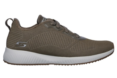 SKECHERS - BOBS SQUAD - TEAM BOBS DARK TAUPE SUEDE