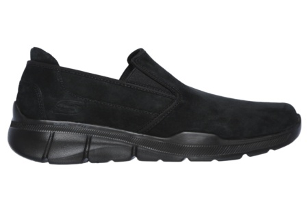SKECHERS - EQUALIZER 3.0- SUBSTIC BLACK MESH/PU/TRIM
