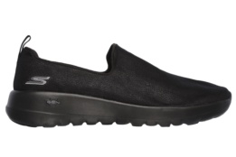 SKECHERS - GO WALK JOY- GRATIFY BLACK TEXTILE/TRIM