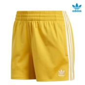 ADIDAS 3 STRIPES SHORT AMARILLO