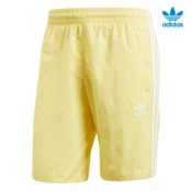 ADIDAS 3-STRIPES SWIM AMARILLO