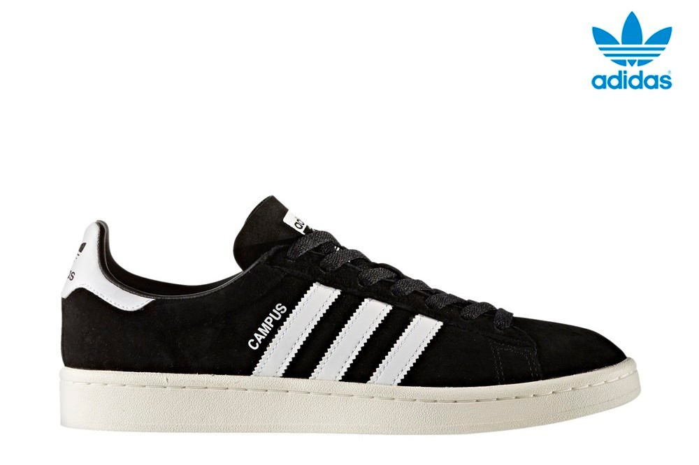 Adidas Campus Zapatillas negro-blanco
