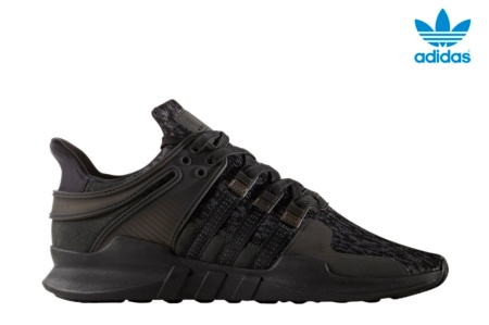 ADIDAS EQT SUPPORT ADV CORE BLACK/SUB GREEN