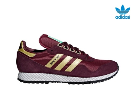 ADIDAS NEW YORK BURDEOS