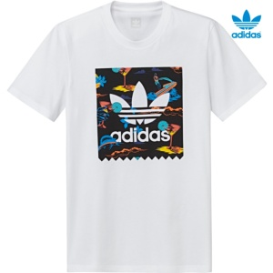 ADIDAS RESORT TEE BLANCO