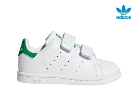 ADIDAS STAN SMITH CF I BLANCO/VERDE
