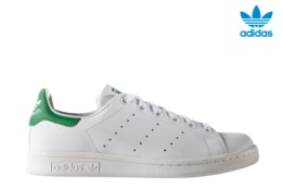 ADIDAS STAN SMITH J BLANCO/VERDE
