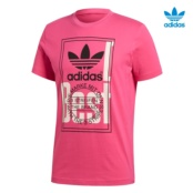 ADIDAS TONGUE LABEL SHOCK PINK