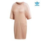 ADIDAS TREFOIL DRESS PEACH