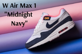 W Air Max 1 Midnight Navy