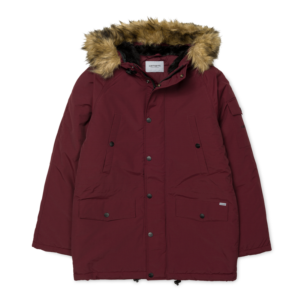 CARHARTT ANCHORAGE PARKA Amarone / Black
