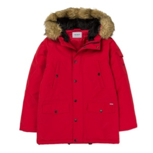 CARHARTT ANCHORAGE PARKA Blast Red / Black