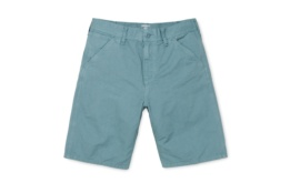 CARHARTT CHALK SHORT DUSTY BLUE