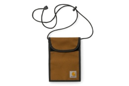 CARHARTT COLLINS NECK POUCH DUCK HAMILTON BROWN