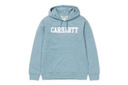 CARHARTT HOODED COLLEGE SWEAT DUSTY BLUE