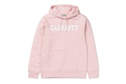 CARHARTT HOODED COLLEGE SWEAT SANDY ROSE