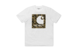CARHARTT S/S C COLLAGE BLANCO
