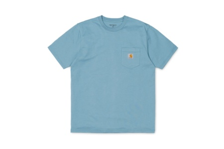 CARHARTT S/S POCKET T-SHIRT DUSTY BLUE