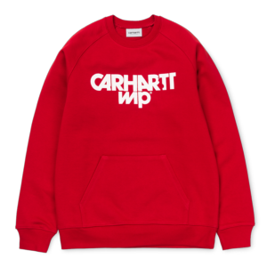 CARHARTT SHATTER SWEAT BLAST RED / WHITE