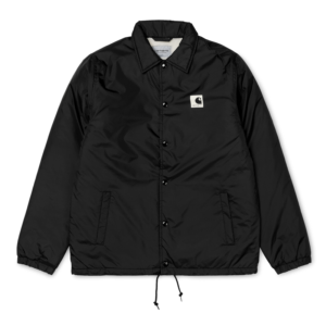 CARHARTT SPORTS PILE COACH JACKET BLACK / WAX