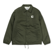 CARHARTT SPORTS PILE COACH JACKET CYPRESS / WAX