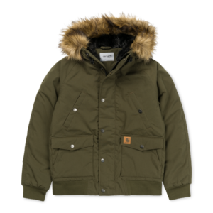CARHARTT TRAPPER JACKET CYPRESS / BLACK