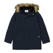 CARHARTT W´ANCHORAGE PARKA Dark Navy / Black