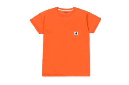 CARHARTT W´ S/S CARRIE POCKET T-SHIRT JAFFA/ASH HEATHER