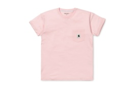 CARHARTT S/S POCKET T-SHIRT SANDY ROSE