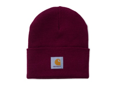 CARHARTT ACRYLIC WATCH HAT MULBERRY