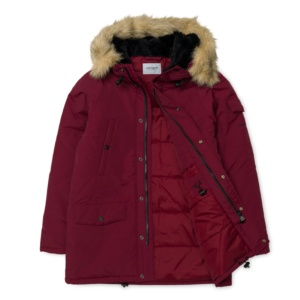 CARHARTT ANCHORAGE PARKA MULBERRY/BLACK