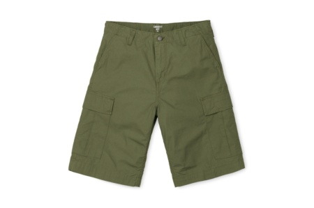 CARHARTT REGULAR CARGO SHORT ROVER GREEN