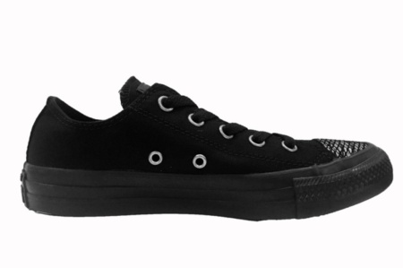 CONVERSE CHUCK TAYLOR ALL STAR OX BLACK/BLACK/BLACK