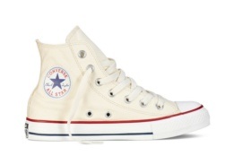 CONVERSE ALL STAR HI NATURAL WHITE