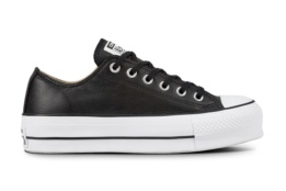 CONVERSE CHUCK TAYLOR ALL STAR LIFT CLEAN BLACK