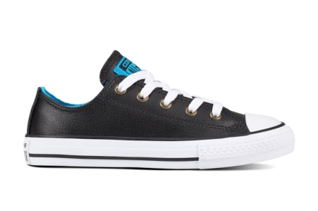 CONVERSE CHUCK TAYLOR ALL STAR OX BLACK/BLUE HERO/