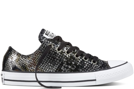 CONVERSE CHUCK TAYLOR ALL STAR OX BLACK/BLACK/WHITE