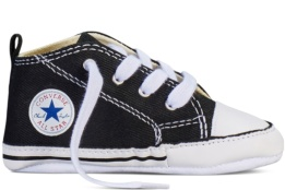 CONVERSE FIRST STAR HI BLACK