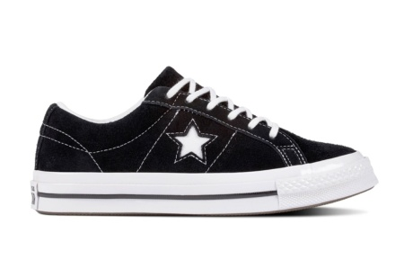 CONVERSE ONE STAR OX BLACK/WHITE