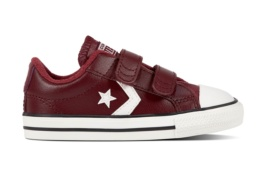 CONVERSE STAR PLAYER EV 2V OX DARK BURGUNDY/