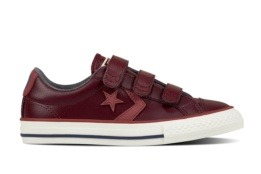 CONVERSE STAR PLAYER EV 3V OX DARK SANGRIA/PORT/EGRET