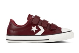 CONVERSE STAR PLAYER EV OX DARK BURGUNDY/
