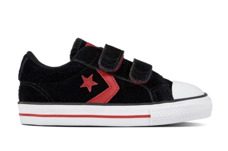 CONVERSE STAR PLAYER EV V BLACK/GYM RED/WHITE