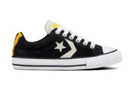 CONVERSE STAR PLAYER OX BLACK/WHITE/UNIVERSITY GOLD