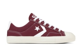 CONVERSE STAR PLAYER OX DARK BURGUNDY/WHITE/WHITE